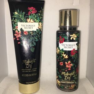Original VS Midnight Ivy Body Mist and Lotion Set